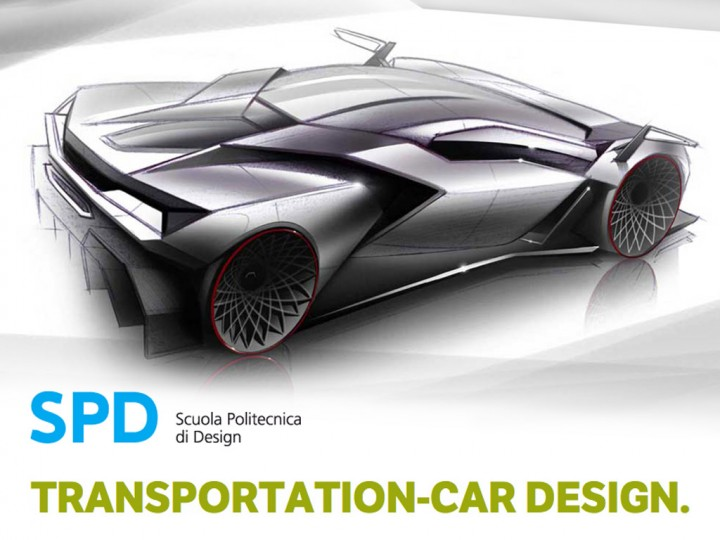Win A Scholarship For Spd Master In Car Design In Collaboration With Volkswagen Group Design Car Body Design