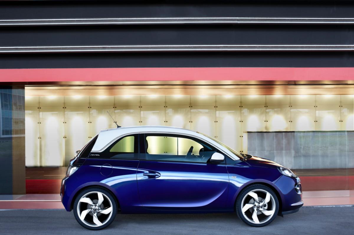 Opel Adam Car Body Design