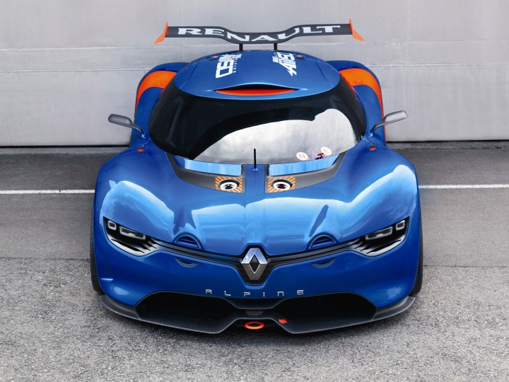 Renault Alpine A110-50: new images and video