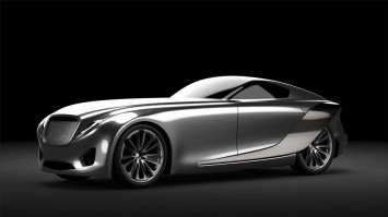Bentley 2030 Concept Alias Model Rendering