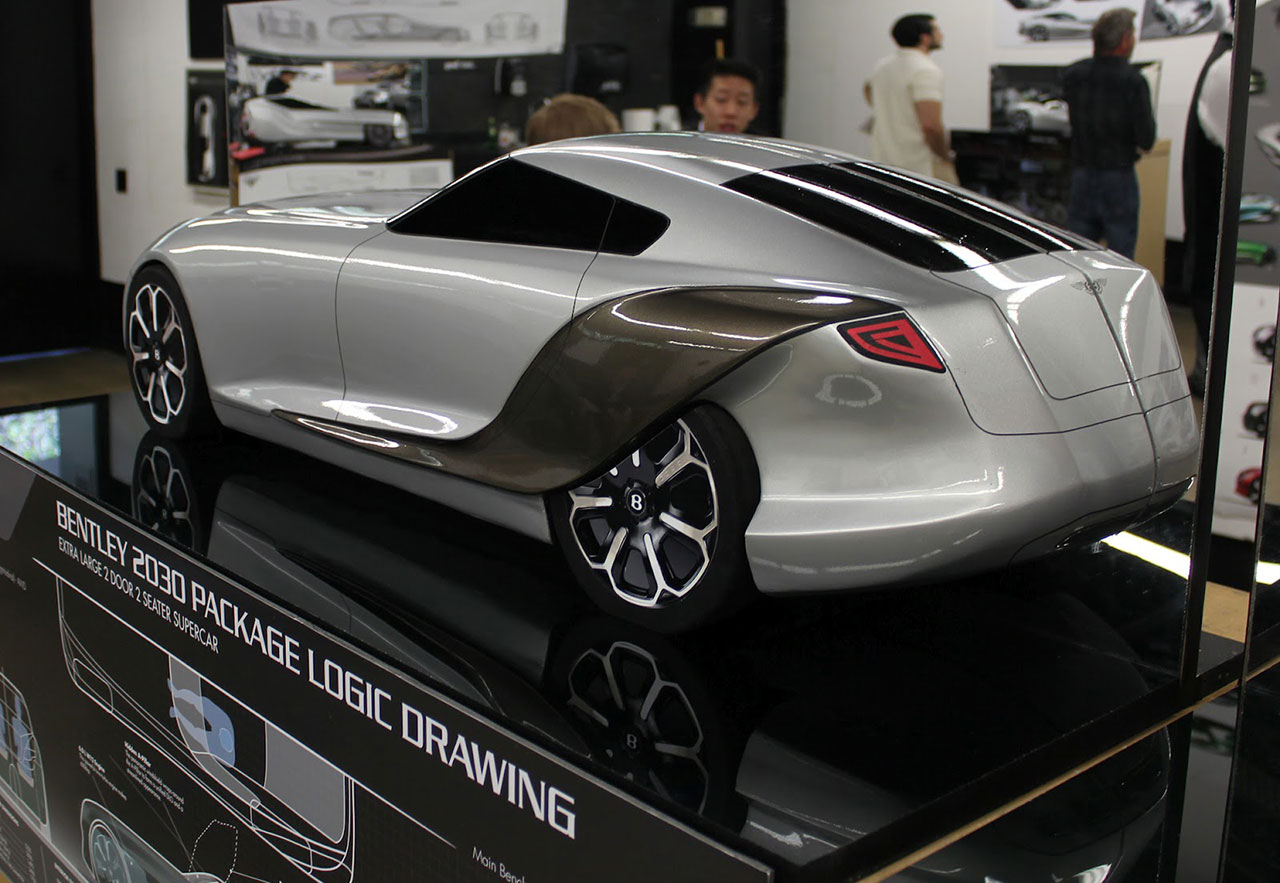 Bentley 2030 Concept Scale Model Car Body Design