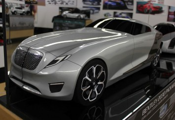 Bentley 2030 Concept Scale Model