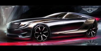 Bentley 2030 Concept Final Design Sketch