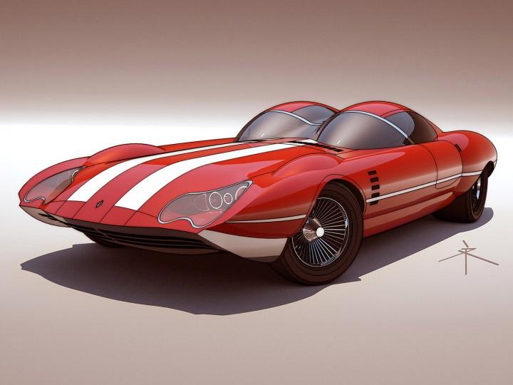 Retro Futuristic Concepts By 600v