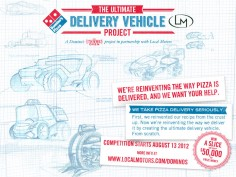 Ultimate Delivery Vehicle Design Competition