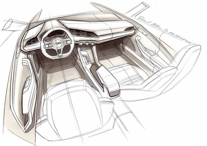 Audi Crosslane Coupe Concept Design Sketches Car Body Design