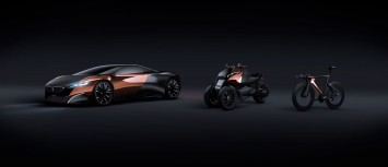 Peugeot Onyx Concepts - Cars, Scooter and Bike