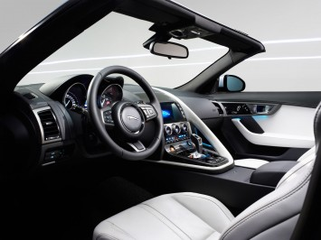 Jaguar F-Type Interior