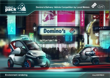 Domino s Pack Concept by Anej Kostrevic