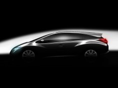 Honda previews the Civic Wagon