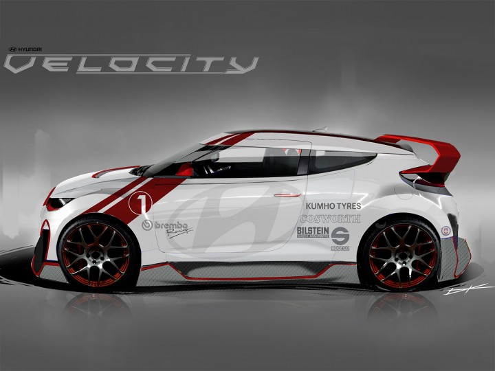 "Hyundai previews Veloster ""Velocity"" Concept ahead of SEMA Show"