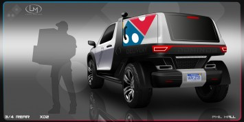 Xtreme Dominos Delivery Vehicle - XD2