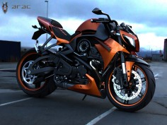 ARAC ZXS Street Fighter Concept