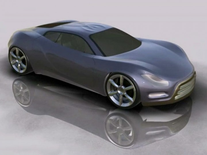Concept Car digital sculpting and modeling