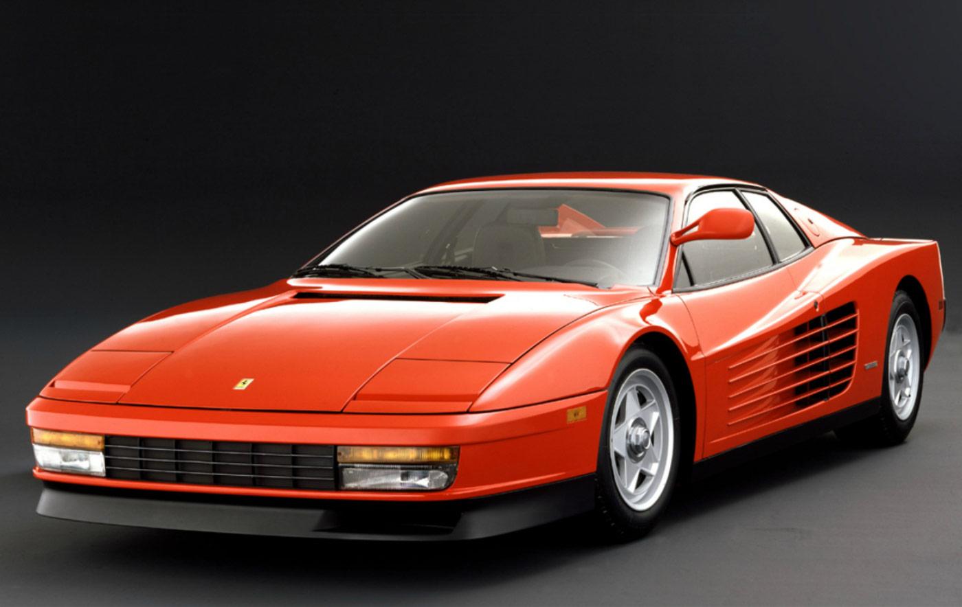 Ferrari Testarossa 1984 Car Body Design