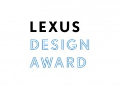 Lexus launches its first Design Award contest