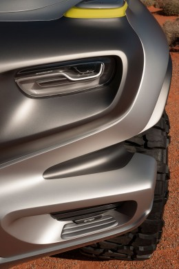 Mercedes-Benz Ener-G-Force Concept design detail