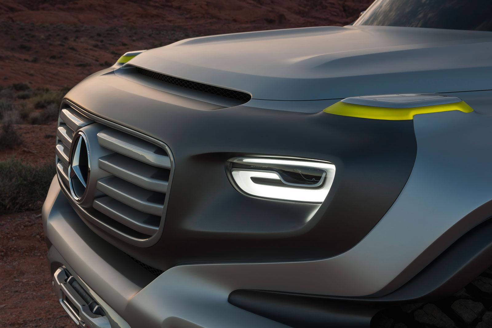 Mercedes-Benz Ener-G-Force Concept design detail - Car ...