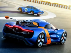 Renault and Caterham announce partnership to design Alpine sports cars