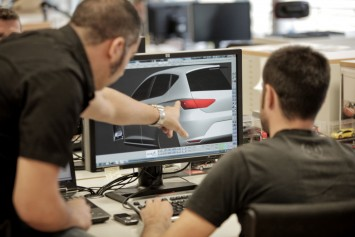 Seat Leon 3D modeling with ICEM Surf