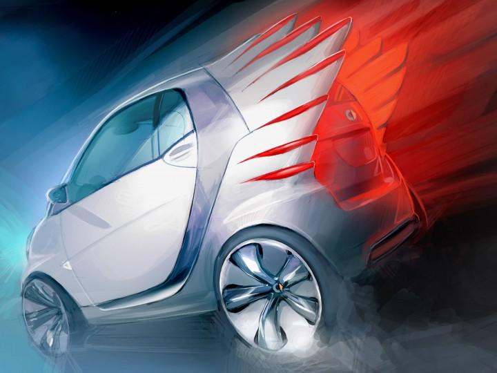 Smart forjeremy Concept - Car Body Design