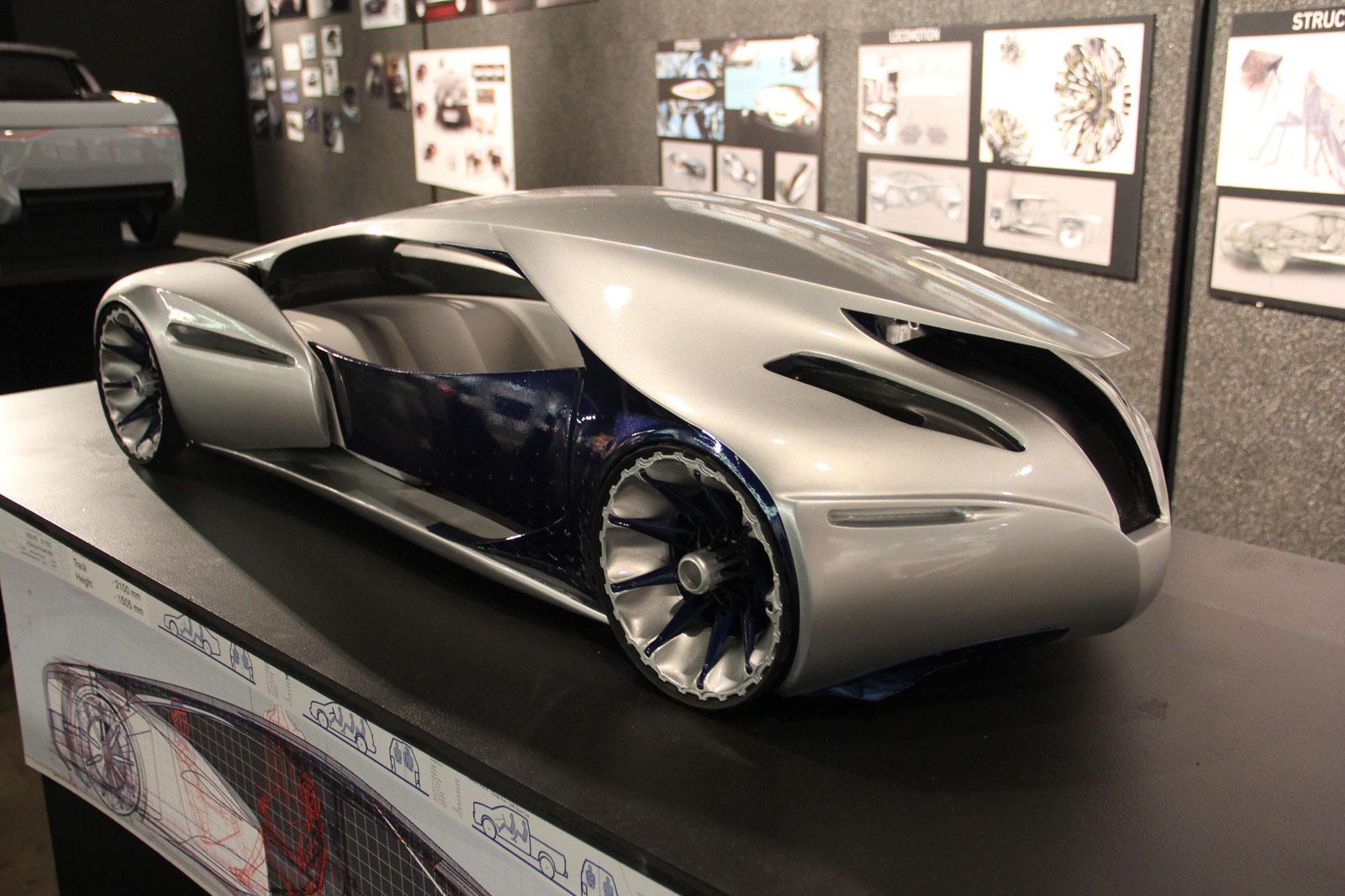 Volvo Singularity Concept Scale Model - Car Body Design