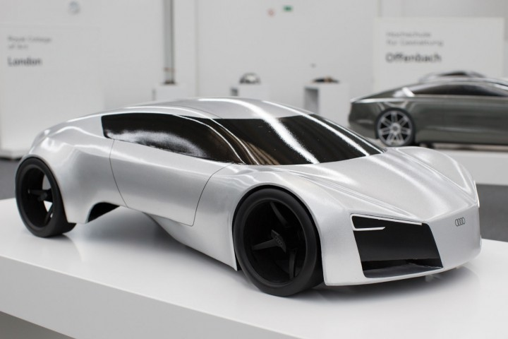 Audi GT Concept by Vanessa Woznik - Scale model
