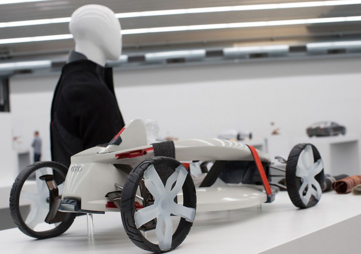 Audi suit Concept by Cherica Haye and Nir Siegel - Scale model
