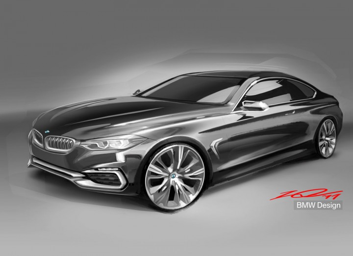 BMW Concept 4 Series Coupe - Design Sketch