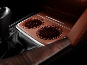 BMW Concept 4 Series Coupe Interior Detail