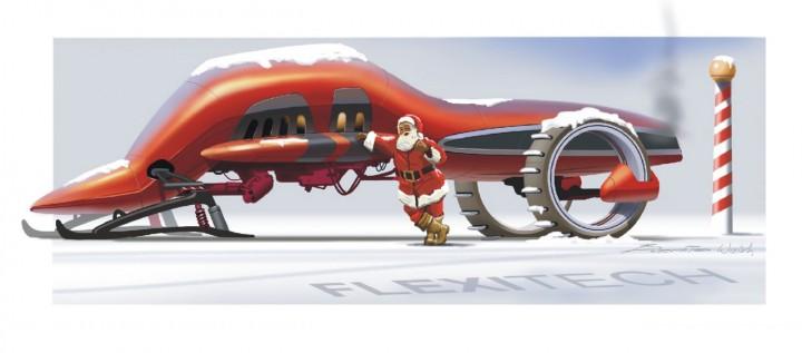 Christmas Card by Bernie Walsh