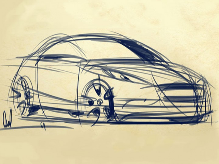 Dynamic Car Sketching Tutorial