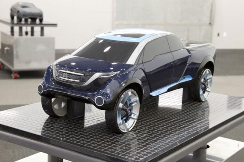 Full Size Pickup Truck By Eric Um Car Body Design