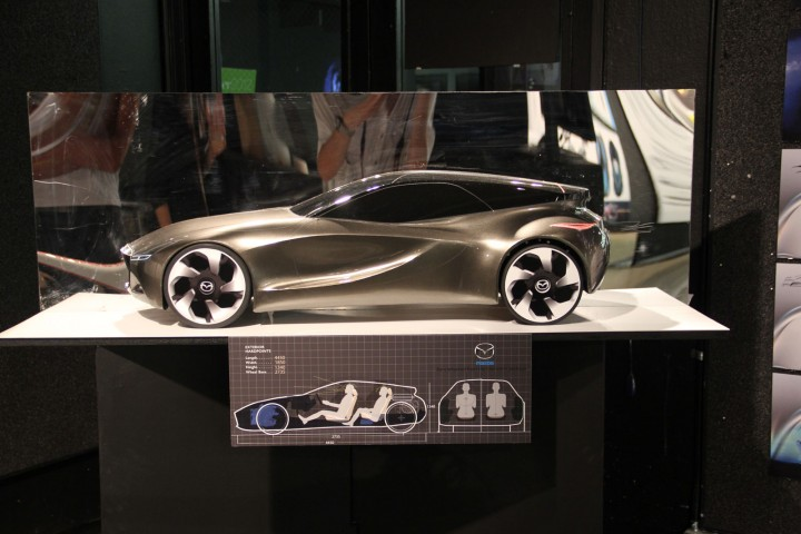 Mazda Soul of Motion Scale model
