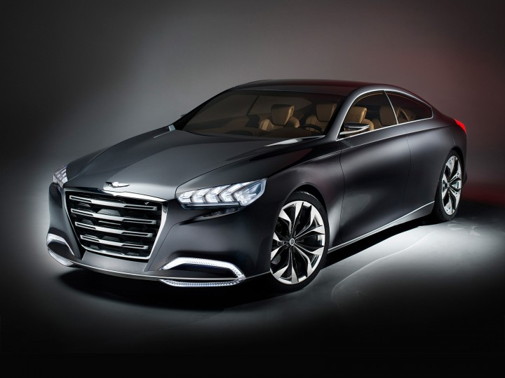 Hyundai HCD-14 Genesis Concept (with VIDEO)