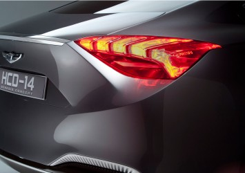 Hyundai HCD 14 Genesis Concept - Tail light