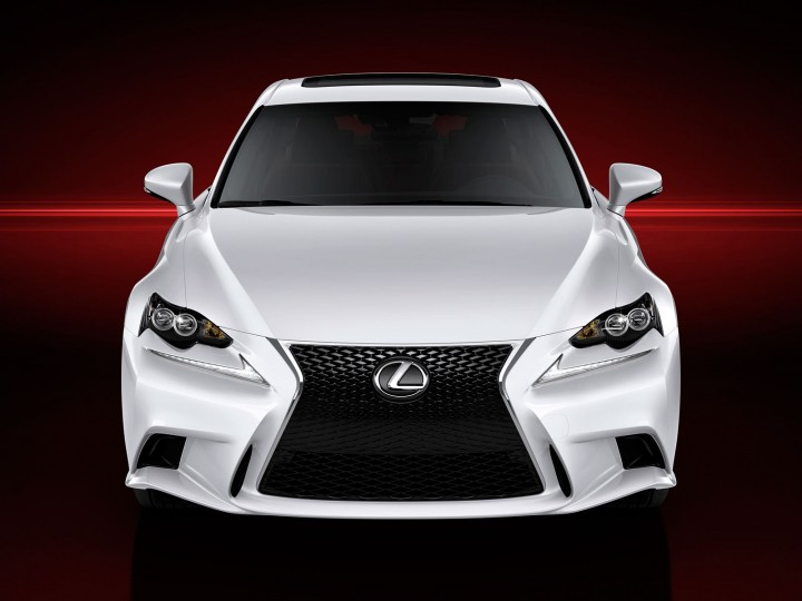 Lexus unveils the next-generation IS