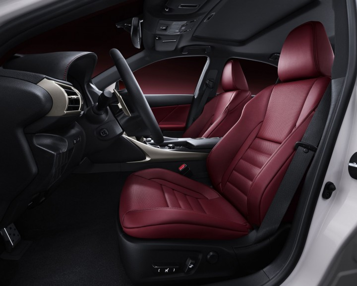 2013 Lexus IS Interior