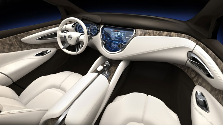 Nissan Resonance Concept - Interior