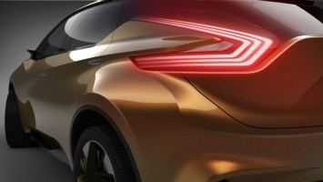 Nissan Resonance Concept tail light