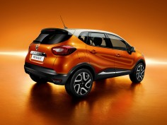 The new Renault Captur compact crossover