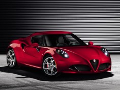 Revealed: Alfa Romeo 4C