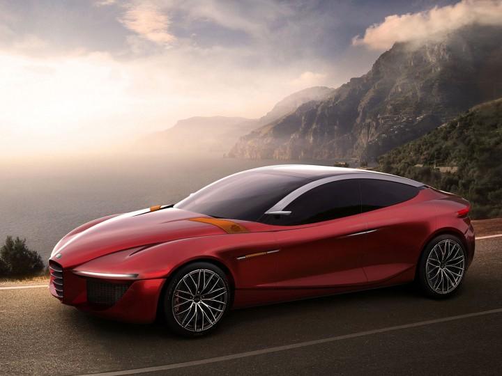 Alfa Romeo Concept Car >> Ied Previews The Alfa Romeo Gloria Concept Car Body Design
