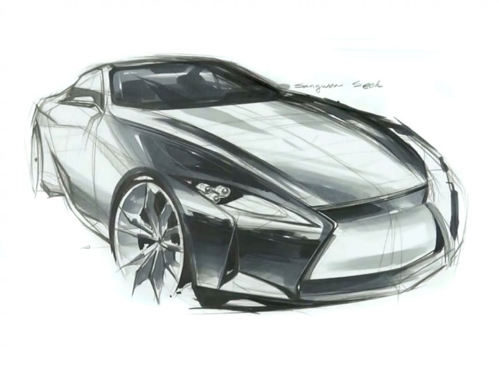 Lexus Concept Sketch Video