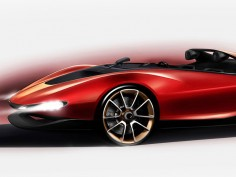 Pininfarina Sergio Concept: sketch preview