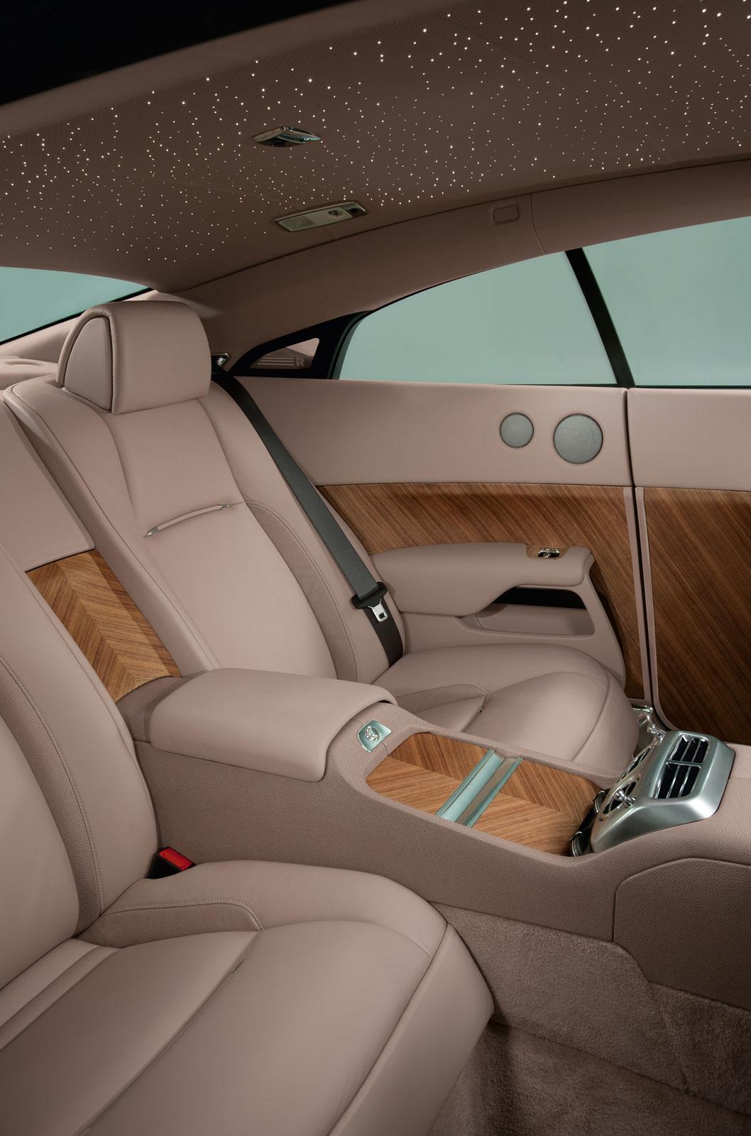 Rolls Royce Wraith Interior Car Body Design
