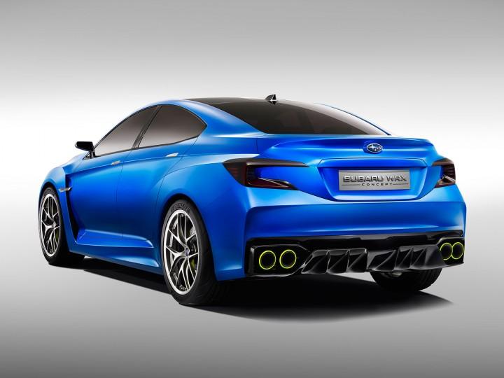 Subaru Wrx Concept Car Body Design