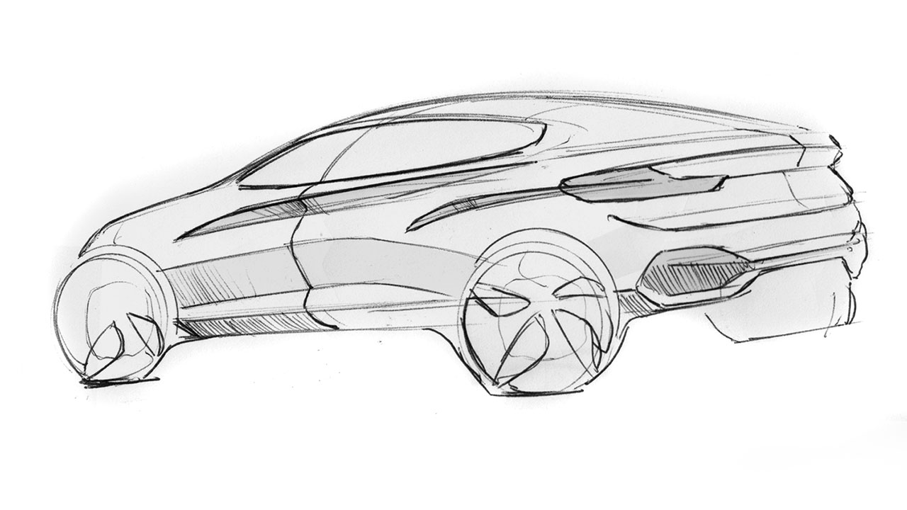 Bmw Concept X4 Design Sketch Car Body Design
