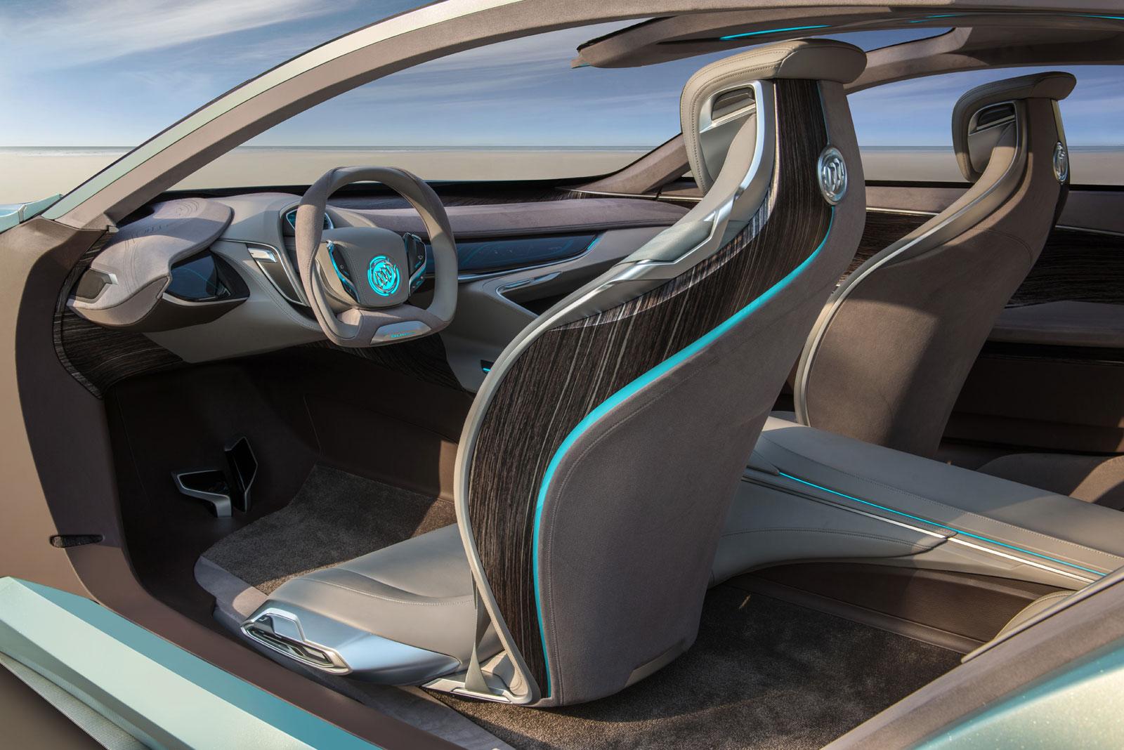 Buick Riviera Concept Interior Car Body Design