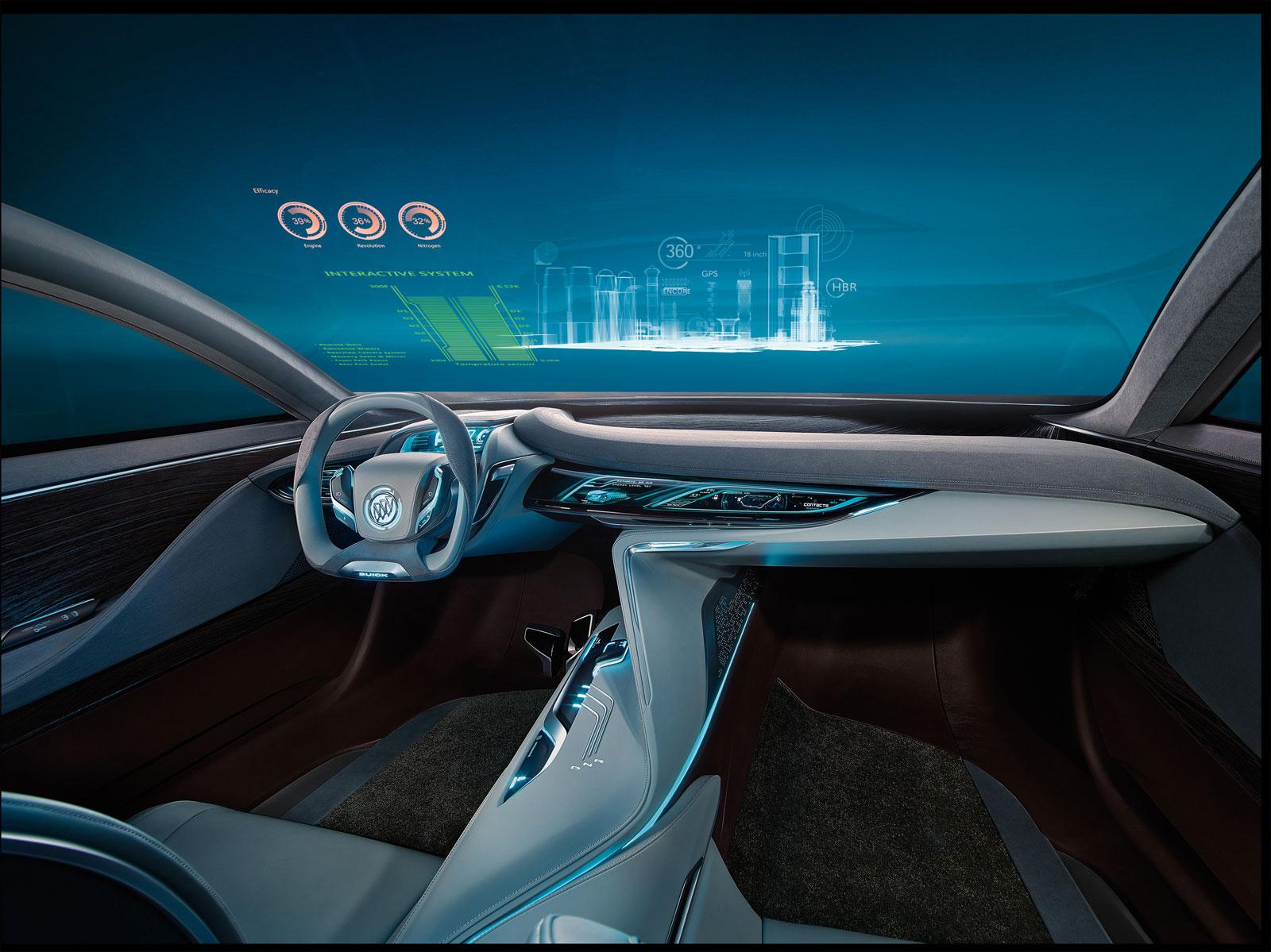Buick Riviera Concept Interior Rendering - Car Body Design
